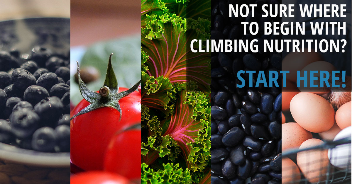 Start here to improve your climbing nutrition!