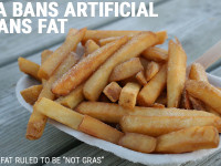 FDA bans artificial trans fat.
