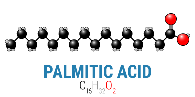 Palmitic Acid Chemical Structure