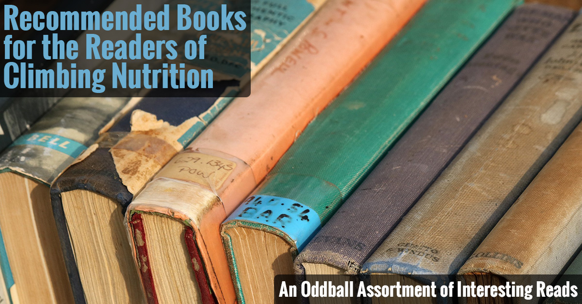 Books Recommended by Climbing Nutrition