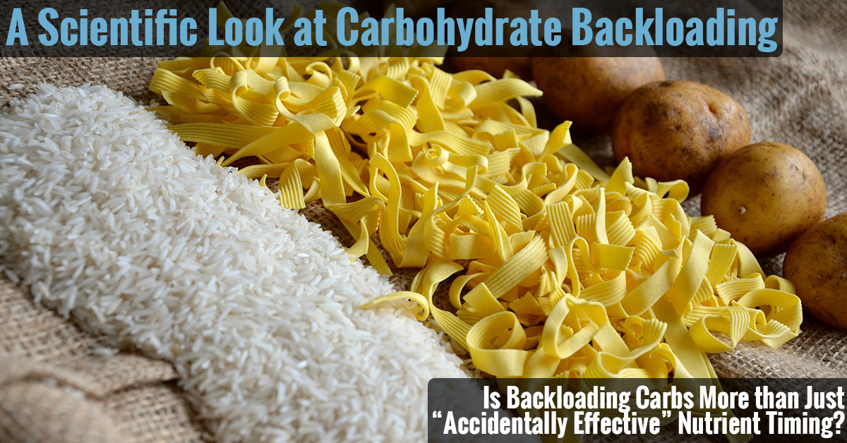Is Carbohydrate Backloading Effective?