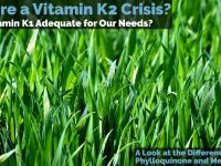 Is vitamin K2 necessary or is vitamin K1 adequate for all our needs?